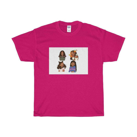 Download 4 Melanin Girls - Unisex Heavy Cotton Tee, Urban Books, Black History and more at United Black Books! www.UnitedBlackBooks.org