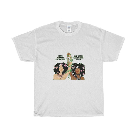 Download Queens Support Queens! - Unisex Cotton T-Shirt, Urban Books, Black History and more at United Black Books! www.UnitedBlackBooks.org