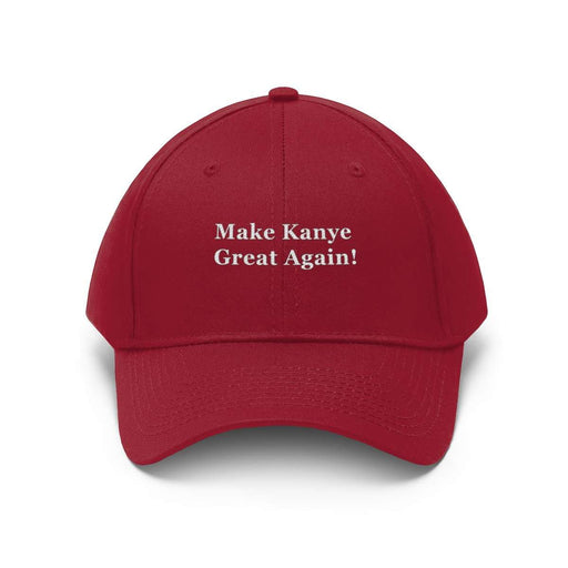 Download Make Kanye Great Again - Unisex Twill Hat, Urban Books, Black History and more at United Black Books! www.UnitedBlackBooks.org
