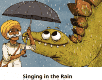 Download Singing in the Rain (Children's E-Book), Urban Books, Black History and more at United Black Books! www.UnitedBlackBooks.org