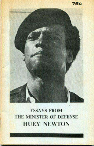 Essays From The Minister Of Defense By Huey P. Newton (E-Book) African American Books at United Black Books