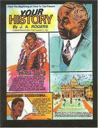 Your History From Beginning to Present by J.A. Rogers (E-Book) African American Books at United Black Books Black African American E-Books