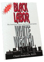 Black Labor, White Wealth:  The Search for Power and Economic Justice by Dr. Claude Anderson (Physical Book)