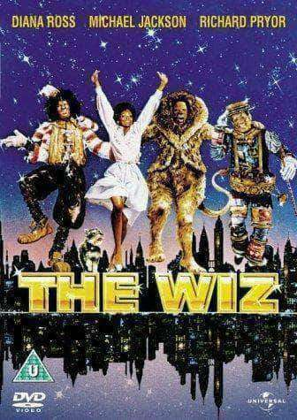 The Wiz - Michael Jackson, Diana Ross, 1978 (Movie) African American Books at United Black Books