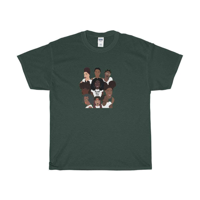 Download Melanin Girls Club - Unisex Cotton Tee, Urban Books, Black History and more at United Black Books! www.UnitedBlackBooks.org