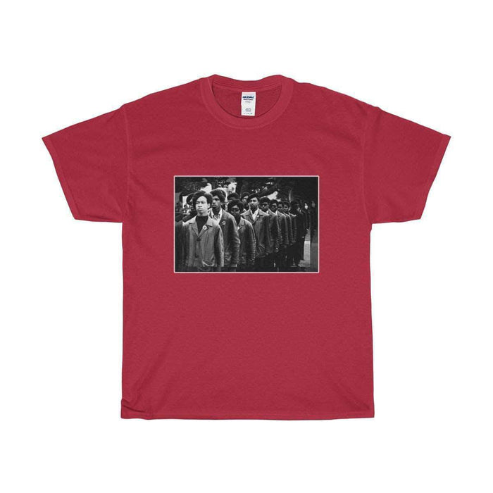 Download Young Black Panthers - Unisex Cotton Tee, Urban Books, Black History and more at United Black Books! www.UnitedBlackBooks.org