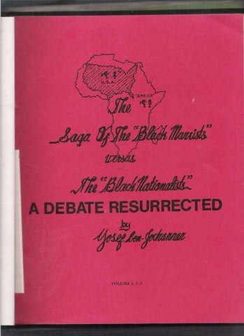 The Saga of the Black Marxists versus The Black Nationalists by Yosef Ben Jochannan (E-Book) African American Books at United Black Books