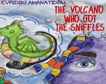 The Volcano Who Got The Sniffles (E-Book) - United Black Books