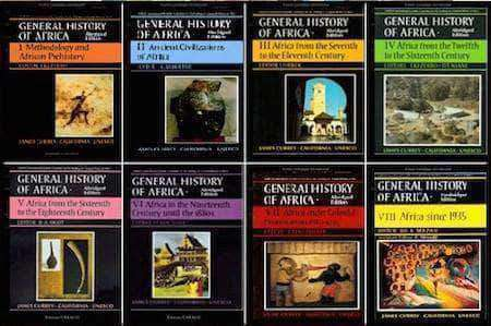 General History of Africa Collection I-VIII (E-Book Set) - United Black Books