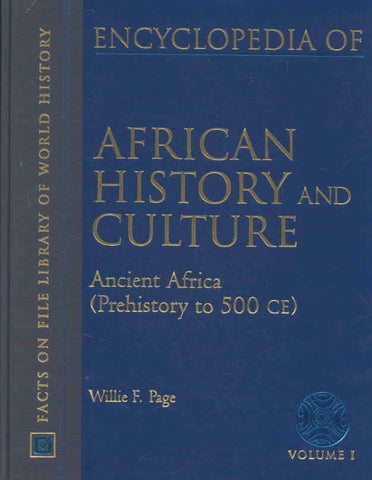 Encyclopedia of Africa and Culture by William F. Page (E-Book) African American Books at United Black Books