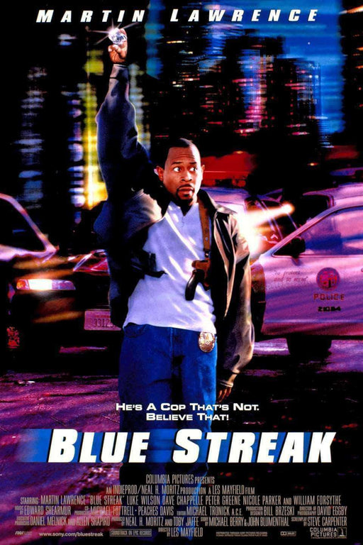 Download Blue Streak - 1999 (Movie), Urban Books, Black History and more at United Black Books! www.UnitedBlackBooks.org