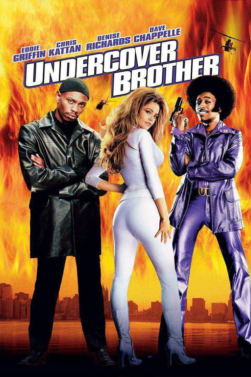 Download Undercover Brother (2002), Urban Books, Black History and more at United Black Books! www.UnitedBlackBooks.org