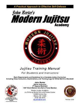 Jujutsu Manual: Complete Jujutsu Cours by John Borter (E-Book)