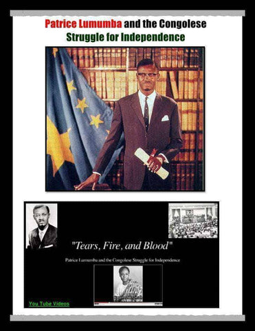 Download Patrice Lumumba and the Congolese Struggle for Independence - Free RGB Booklet (E-Book), Urban Books, Black History and more at United Black Books! www.UnitedBlackBooks.org