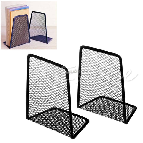1 Pair Metal Mesh Desk Card Organizers