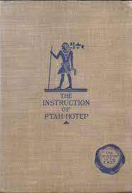 Download The Instructions of Ptah-Hotep (E-Book), Urban Books, Black History and more at United Black Books! www.UnitedBlackBooks.org