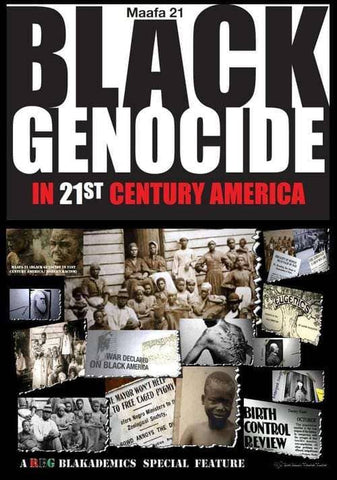 Download Maafa 21 - Black Genocide in 21st Century America (Full Documentary), Urban Books, Black History and more at United Black Books! www.UnitedBlackBooks.org