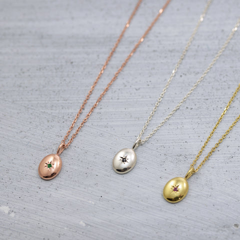 Stardust dome Necklace - HerBanana