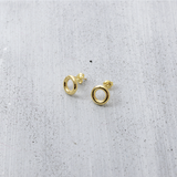 Donut stud Earrings - HerBanana
