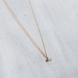 Unbalance rough dia Necklace - HerBanana