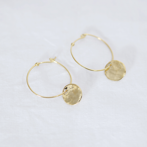 Little planet hoop Earrings - HerBanana