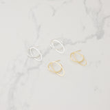 Oval dream Earrings - HerBanana