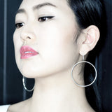 Bold circle earrings - HerBanana