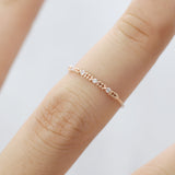 Dainty middle age Ring - HerBanana