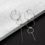 Juggling asymmetric Earrings - HerBanana