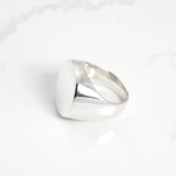 Perfect circle signet Ring - HerBanana