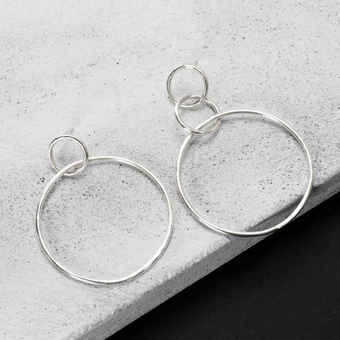 Be Bold Asymmetric earrings - HerBanana