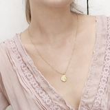 Moon face necklace - HerBanana