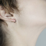 Faceted sleeper Earrings - HerBanana