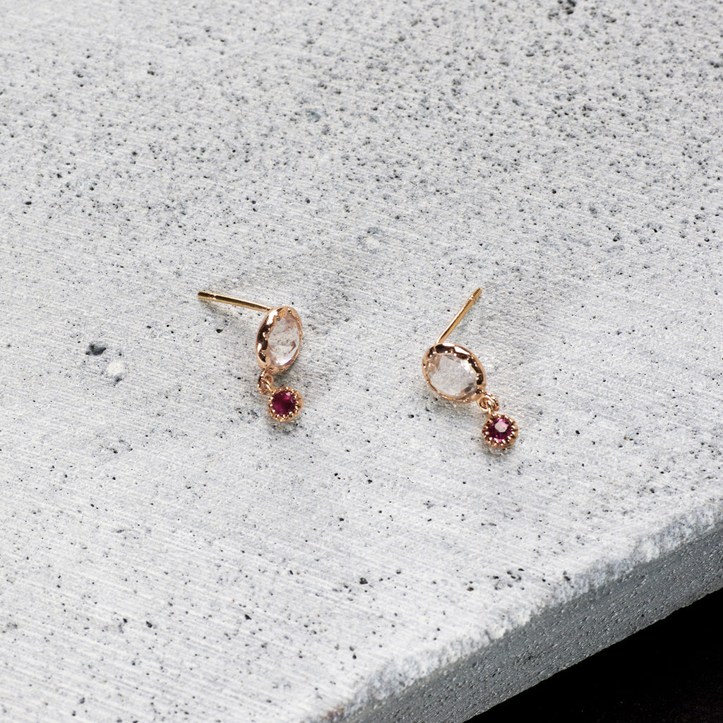 Rose fever Earrings - HerBanana