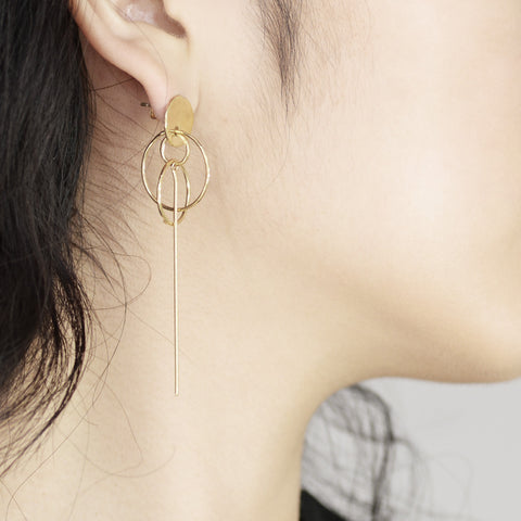 Little planet drop Earrings - HerBanana