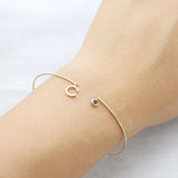 One dream letter cuff Bracelet - HerBanana