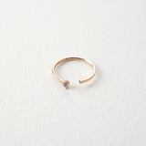 Elegance open stone Ring - HerBanana