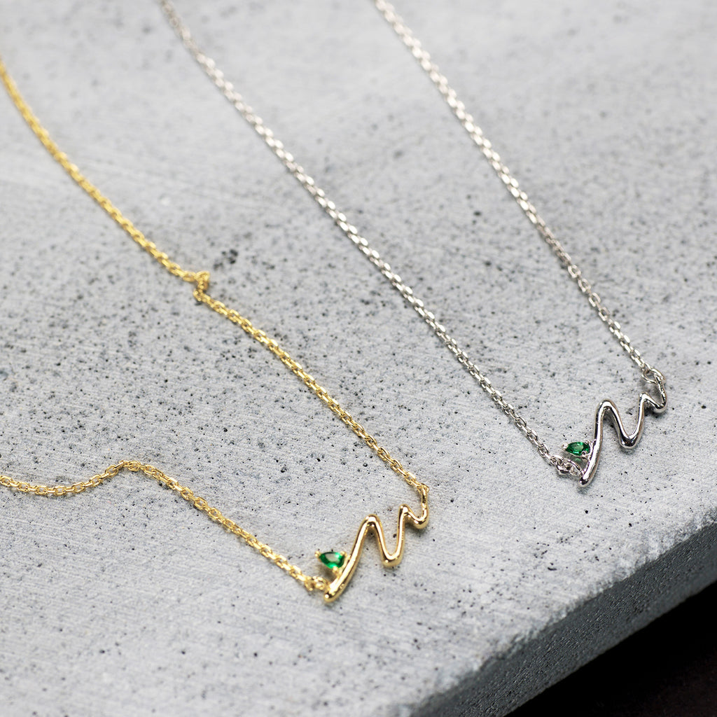 Double Wave necklace - HerBanana