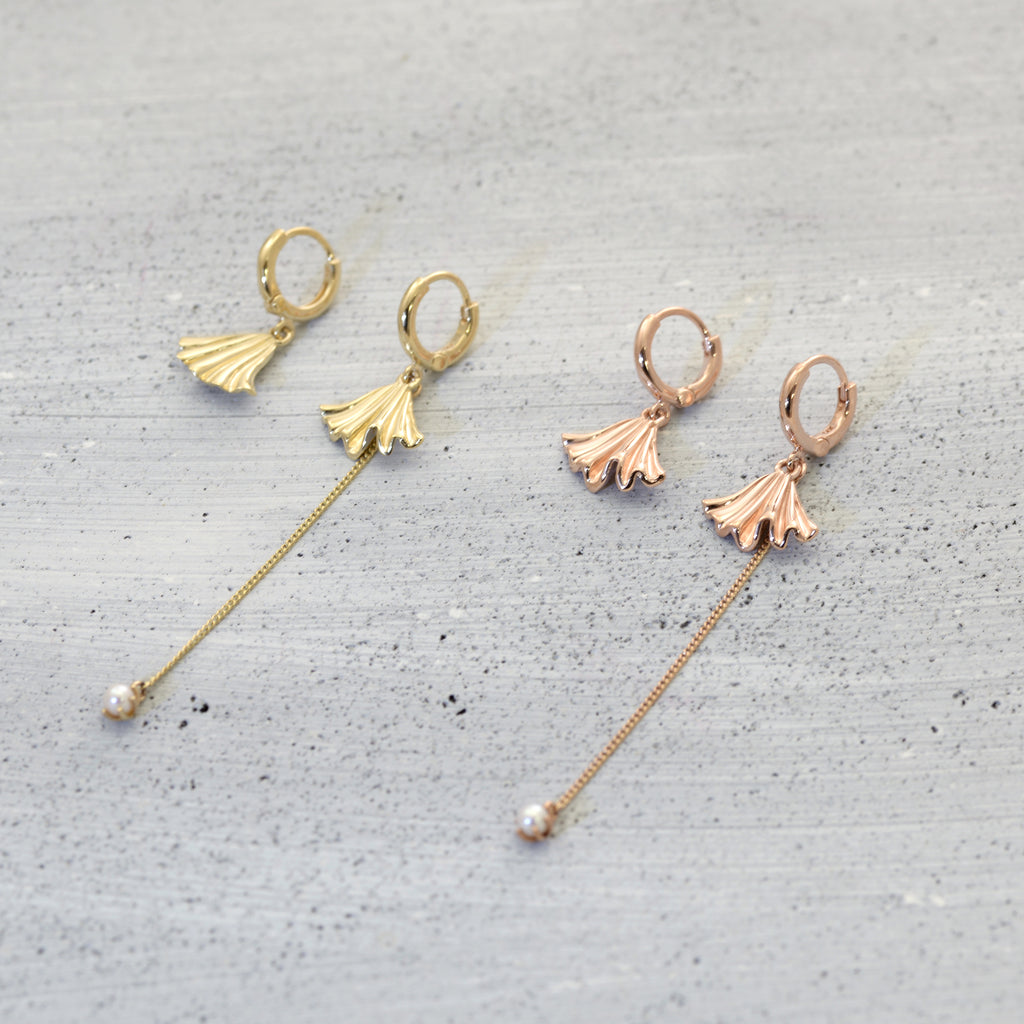 Dance with the shell sleeper Earrings