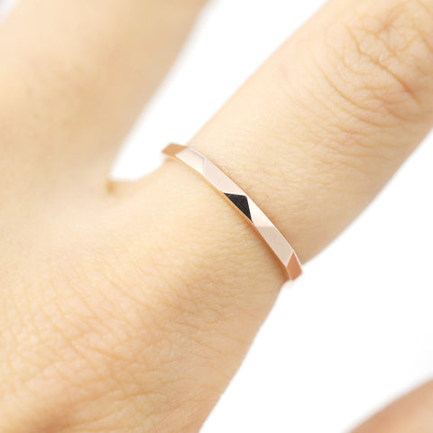 Cutting band Ring - HerBanana