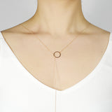 Circle thread Necklace - HerBanana