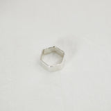 Hexagon band Ring - HerBanana