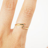 Wave Ring - Silver - HerBanana