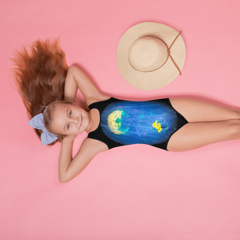 All-Over Print Kids Swimsuit