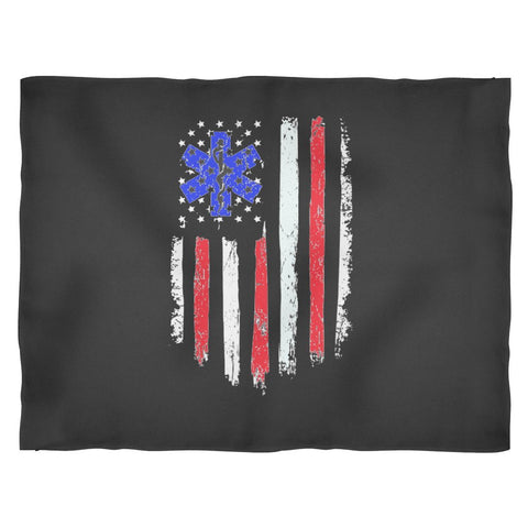 EMT US Flag Blanket - EXCLUSIVE & LIMITED QUANTITY!-Blankets-teelaunch-Small Fleece Blanket-Deal Digs