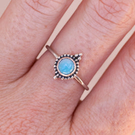 Larimar Jewel Ring