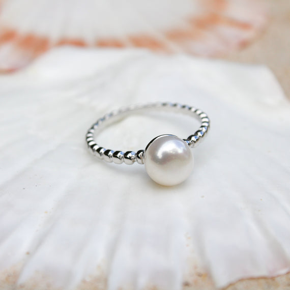Pearl Bubble Ring