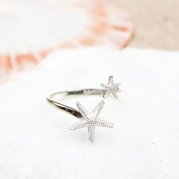 Double Sea Star Ring