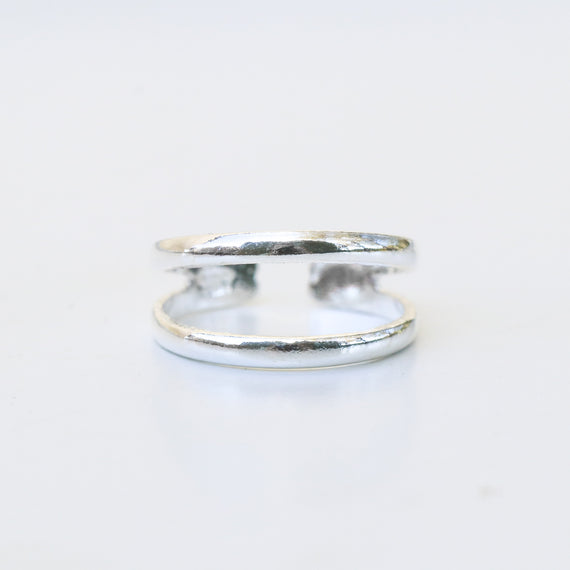 Sterling Silver Island Toe Ring