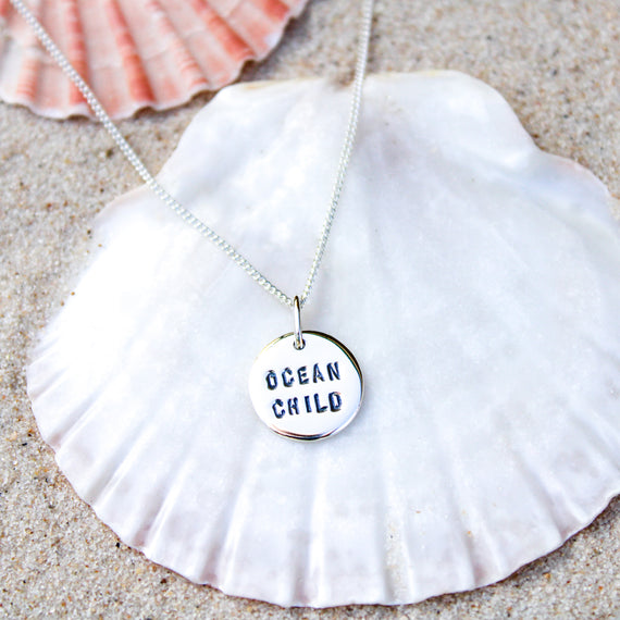 Ocean Child Pendant Necklace